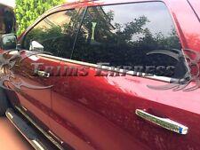 2011-2017 Dodge Durango 4Pc Chrome Window Sill Trim Stainless Steel