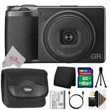 Ricoh GR III 24.2MP APS-C CMOS Sensor Digital Camera with 8GB Accessory Kit