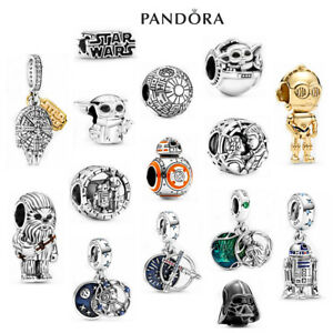 ALE S925 Sterling Silver Genuine Pandora Star Wars Charm With Gift Box