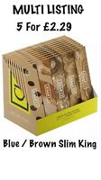 Clipper Pure King Size Rolling Papers - Unbleached, Ultra Thin Papers, 1ST CLASS