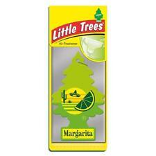 4 x Little Magic Tree Car Air Freshener MARGARITA Lime Freshner 2D