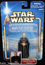 Star Wars Ataque De Los Clones. Canciller Supremo Palpatine.! nuevo! Darth Sidious