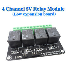 Light Detection Omron Relay Module 5V 4 Channels Low Level Expansion Board