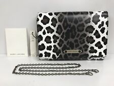 NWT Marc Jaobs All-In-One Leather Leopard Print Shoulder Bag Clutch #20436900
