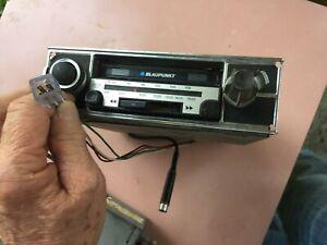 BLAUPUNKT AM/FM Radio Cassette Player, Condition Unknown