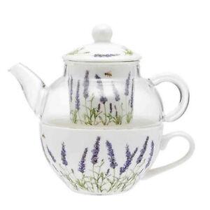 Ashdene French Country Kitchen Tea For One LAVENDER FIELDS Teapot
