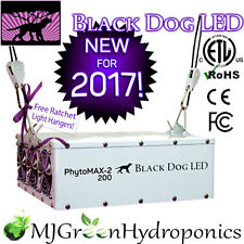 Black Dog LED PHYTOMAX-2 200 Full Spectrum Grow Light *Authorized Dealer* 210w
