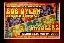 """BOB DYLAN Birthday"" ROSIE FLORES Carolyn Wonderland TEXAS (2006) Concert Poster"