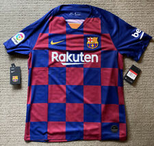 Nike FC Barcelona 19/20 Home Jersey AJ5532-456 Mens Size L NWT LIONEL MESSI