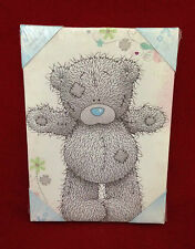 ME TO YOU BEAR TATTY TEDDY PINK PRINTED CANVAS PICTURE GIFT