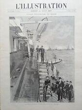 L'ILLUSTRATION 1897 N 2843 VOYAGE DU PRESIDENT FELIX FAURE EN RUSSIE