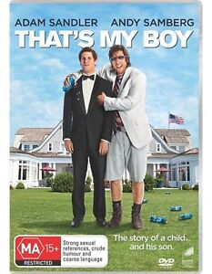That's My Boy    DVD      402