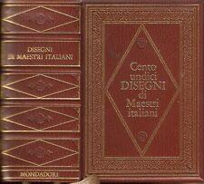 Centoundici Disegni di Maestri Italiani Mondadori 1971