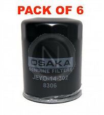 OSAKA Oil Filter Z411 - FOR Subaru Impreza FORESTER Honda Civic CR-V BOX OF 6