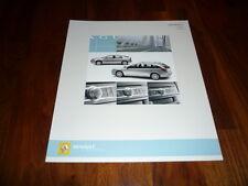 Renault Kangoo Zubehör Prospekt 01/2004