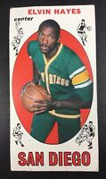 Collectible 1969 Topps Elvin Hayes #75 Rookie Basketball Card San Diego Rockets