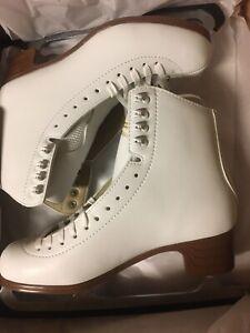 New Jackson Ultima Women's Sz 10 C Mystique Figure Ice Skates White