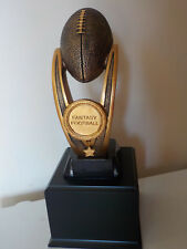 """Large perpetual Fantasy Football trophy, award, about 16.5"""" high"""