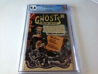 MANY GHOSTS OF DR GRAVES 1 CGC 9.4 WHITE PAGES SHRUNKEN HEAD CVR CHARLTON COMICS