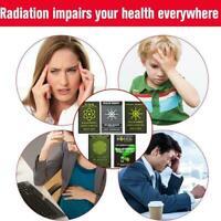 5Pcs EMR Scalar Energy Phone Sticker Anti-radiation Protection EMF C0Q0