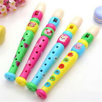 Cute Toy Plastic Kid Piccolo Flute Musical Instrument Early Education  EO