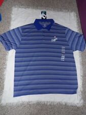 MLB LA Los Angeles Dodgers Mens Polo Short Sleeve Shirt by Dynasty Sz XL NWT
