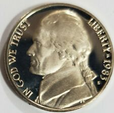 1983 P /& D JEFFERSON NICKEL SET 2 COINS SDS   **FREE SHIPPING**
