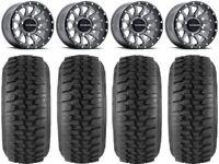 "Raceline Trophy 15"" (5+1) Gy Wheels 30"" Desert Series Tires Polaris RZR TS / RS1"