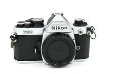 Nikon FM2 N FM2N SLR Camera Body Chrome - Clean and working
