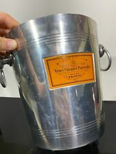 Vtg Veuve Clicquot VCP Champagne Metal Ice Bucket
