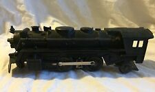 2 Vintage Marx Train Engine #666 & Southern Pacific Coal Tender Black Parts