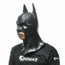 HOT Cosplay Cool Batman Hero Latex Full Head Mask Popular Adult Party Toy Props