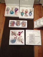 VINTAGE MARILYN MONROE BRADFORD EXCHANGE CHRISTMAS ORNAMENTS LOT 4 BOXES RARE