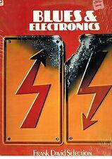 MFD IN USA NM 1972 ELECTRONIC DANCE LP FRANK DAVID SELECTION BLUES & ELECTRONICS