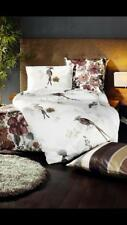BEAUTIFUL 'FLEURESSE' BIRDS SINGLE BED QUILT COVER SET  /AS NEW CONDITION / 2013