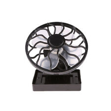 Solar Sun Power Panel Fan Outdoor Hat Clip-on Cooler Outdoor Camping Hiking