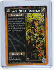 Web Drive Interface Rage White Wolf Legacy of the Tribes Rare M/NM CCG TCG
