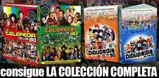 COLECCIÓN COMPLETA - 4 LIBROS - DIBUPEDIAS & TELEPEDIAS de los 80 y 90