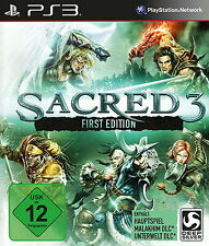 Sacred 3  First Edition (Sony PlayStation 3, 2014, DVD-Box)