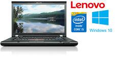 Lenovo Thinkpad W510 Intel Core i5-560m 2,66GHz 120GB SSD 4GB Win 10 1600x900