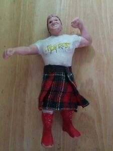 WWF LJN Rowdy Roddy Piper With Kilt 1984 Red Boots