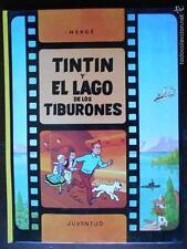 TINTIN Y EL LAGO DE LOS TIBURONES - DUODECIMA EDICION - 1995 (J2)