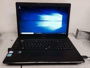 "Asus X54C-BBK3 Intel Pentium B960 2.2 GHz 4 GB RAM 320 GB HDD 15.6"" Win10 Pro"
