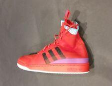 Adidas FORUM WINTER PK Basketball Shoes- Red- Mens SZ-8