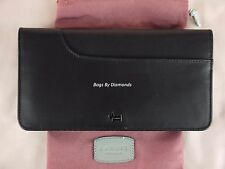 "Radley ""Pocket Bag"" Black Leather Bifold Matinee Purse Wallet Large New RRP £75"
