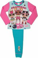 Girls Official LOL Surprise Long Pyjamas (Glamsquad) Size Age 4 to10 Years New