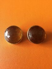 Collectible Kenneth Jay Lane Amber Crystal Earrings