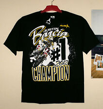 ALIAS Justin Barcia Honda Fan T-Shirt Cross NEU MX World Champion L Schwarz CR-F