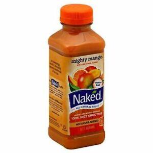 Naked SMOOTHIE, MANGO NO-SUGAR-ADDED PLASTIC BOTTLE REF MIGHTY 100% JUICE