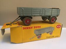 DINKY TOYS 428 TRAILER (LARGE) IN ORIGINAL BOX